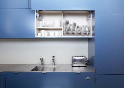 Colourful Small Kitchen Design
